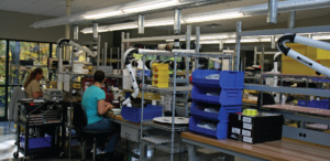 Inside our production facility