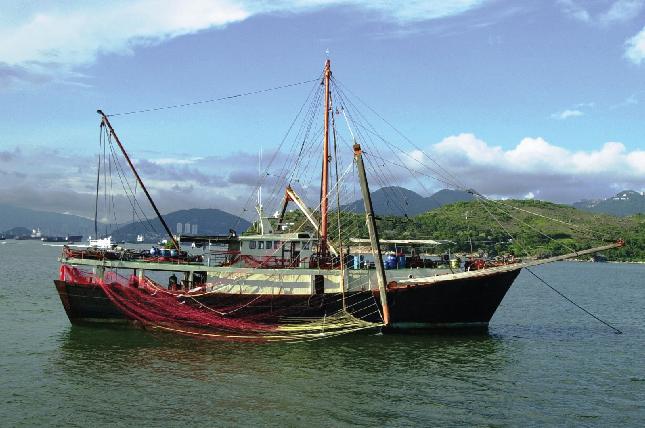 Industrial Fishing Trawl Application